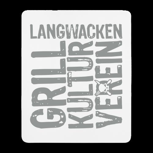 Grillkulturverein-Mousepad - Mousepad (Hochformat)