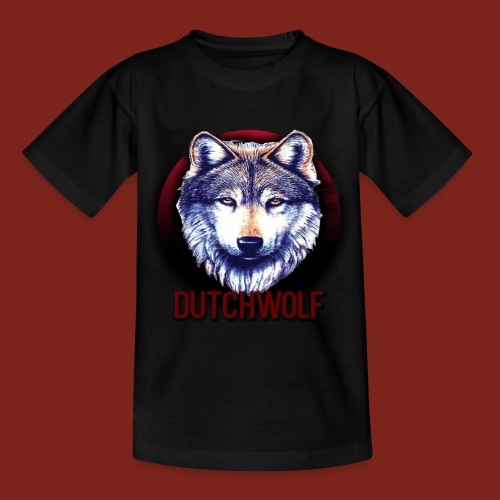 DutchWolf Teenager T-shirt+Logo - Teenager T-shirt