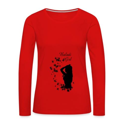 sweat shirt Baladi Girl - T-shirt manches longues Premium Femme