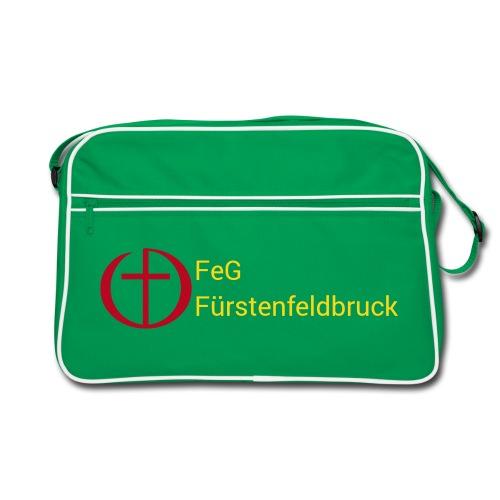 Retro-Tasche mit Logo - Retro Tasche