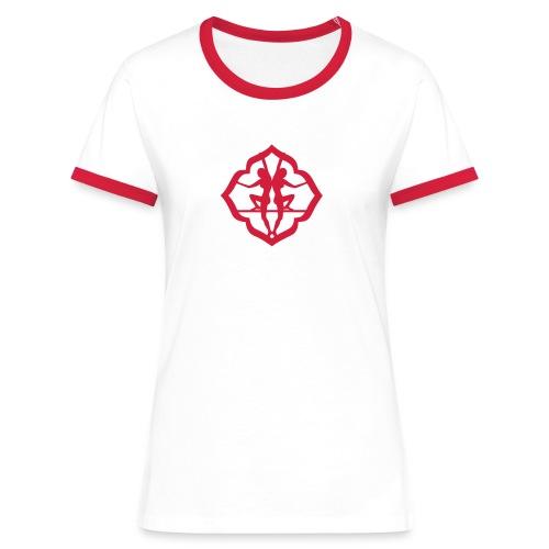 T-shirt contrasté Femme - la douceur mène à tout,Lafay Athletics,Lafay,LDMT