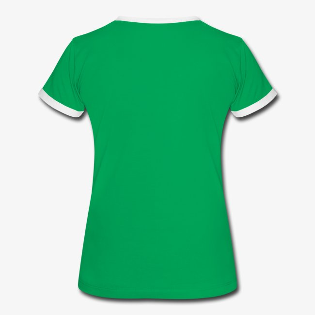 LALSA Woment's 'Ringer' T-Shirt w/Dark Lettering
