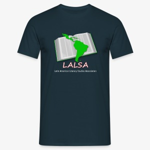 LALSA Mens T-shirt w/Light lettering - Men's T-Shirt
