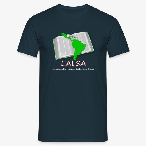 LALSA Mens T-shirt w/Light lettering - Men's T-Shirt