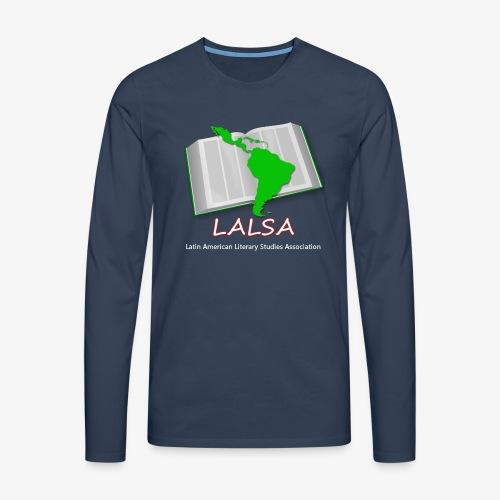 LALSA Longsleeve T-shirt w/Light lettering - Men's Premium Longsleeve Shirt