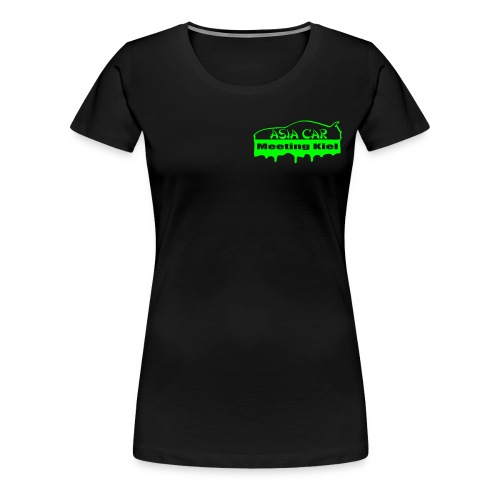 Frauen T-Shirt ASIA CAR Meeting Kiel - Frauen Premium T-Shirt
