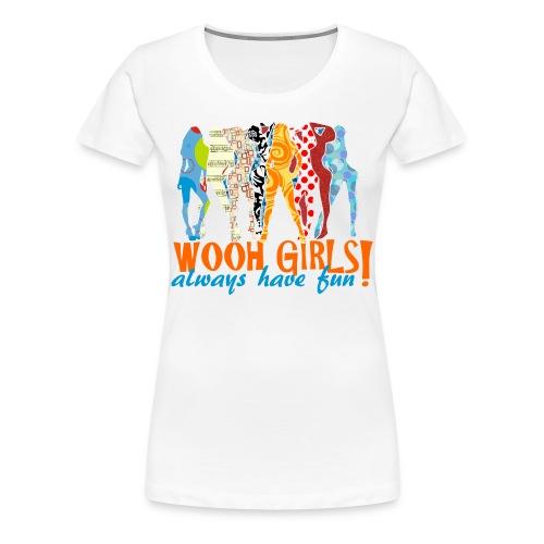 Wooh-Girls - Frauen Premium T-Shirt