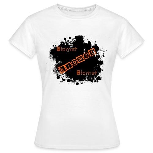 Drenge blomster t-shirt - Dame-T-shirt
