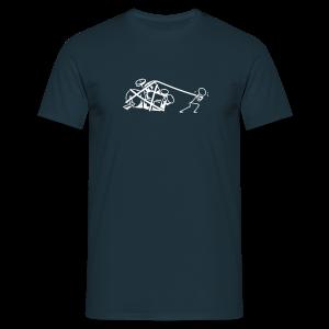 Drummers at work - Männer T-Shirt