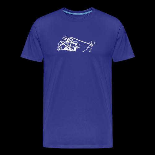 Drummers at work - Männer Premium T-Shirt