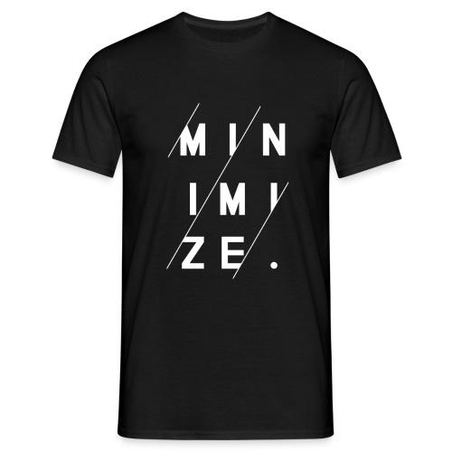 Minimize - T-shirt Homme