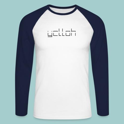 YelloH Long-Base - Männer Baseballshirt langarm