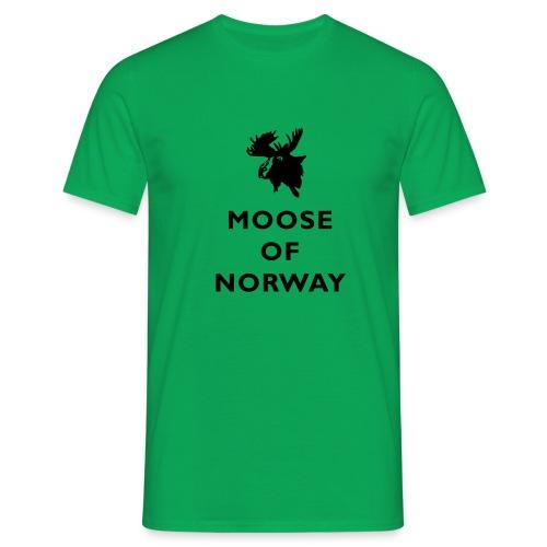 Moose of Norway - T-skjorte for menn