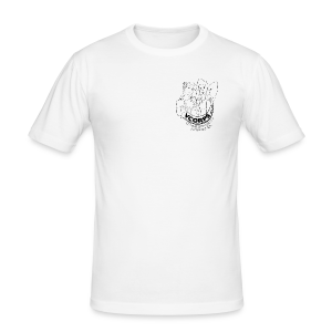 Male Slim Fit White - slim fit T-shirt