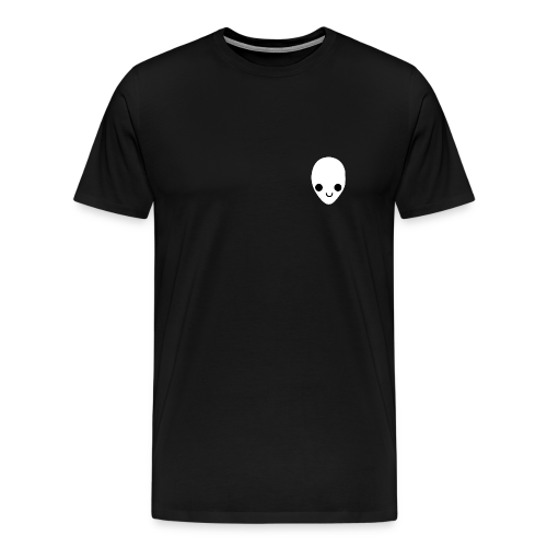 'Q.T' Tee in Black - Men's Premium T-Shirt