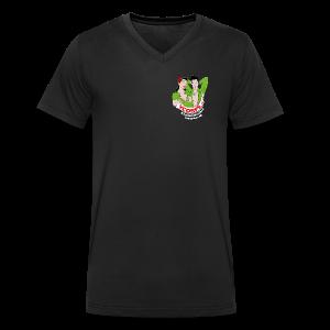 Male V-Neck - Mannen bio T-shirt met V-hals van Stanley & Stella
