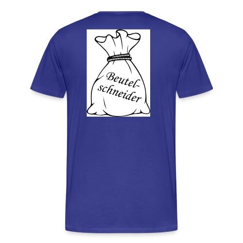 Beutelschneider-Shirt für Männer - Männer Premium T-Shirt