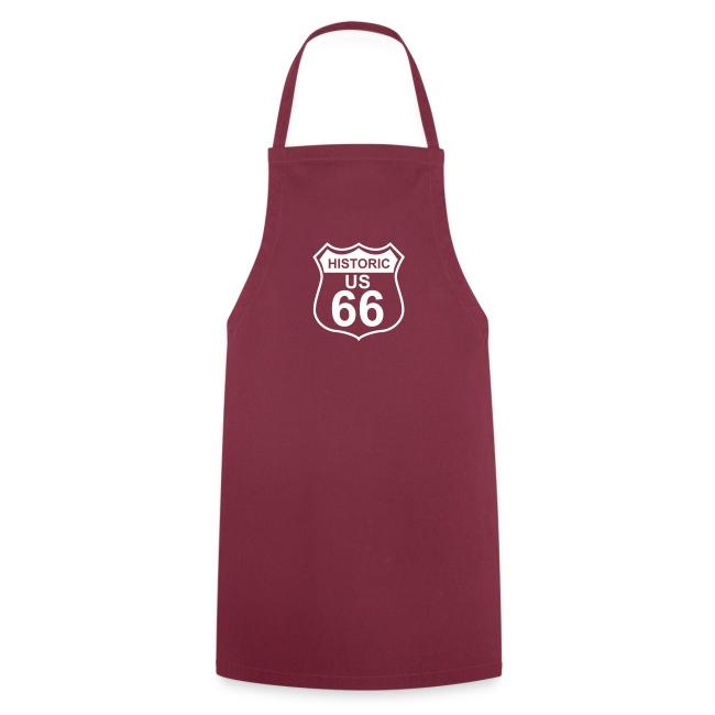 Kochschürze Historic US 66