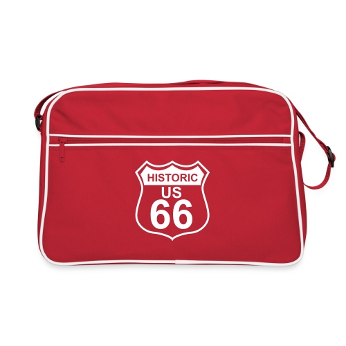Retrotasche Historic US 66 - Retro Tasche