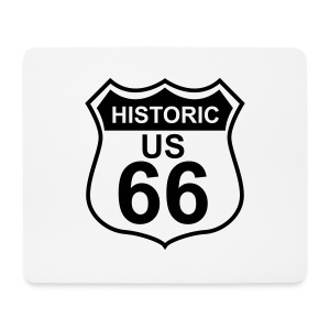 Mousepad Historic US 66 - Mousepad (Querformat)