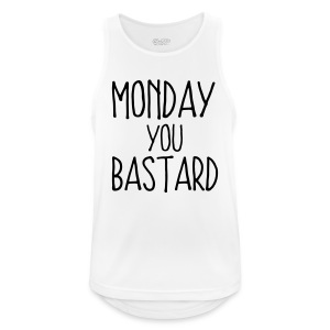 MONDAY YOU SON OF A BITCH! Sports wear - Men's Breathable Tank Top