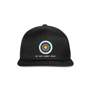 Snapback Cap - EAT - SLEEP - ARCHERY - REPEAT - Snapback Cap