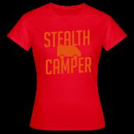 T-Shirts ~ Women's T-Shirt ~ Stealth Camper
