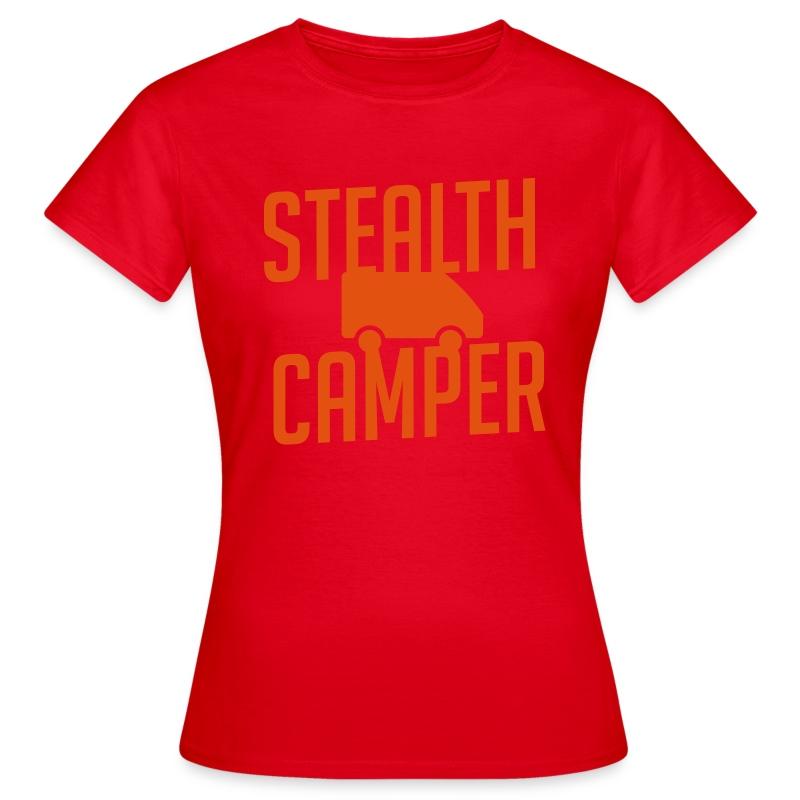 Stealth Camper - T-skjorte for kvinner