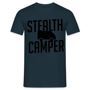 Stealth Camper - T-skjorte for menn
