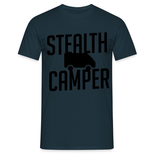 Stealth Camper - T-skjorte for menn