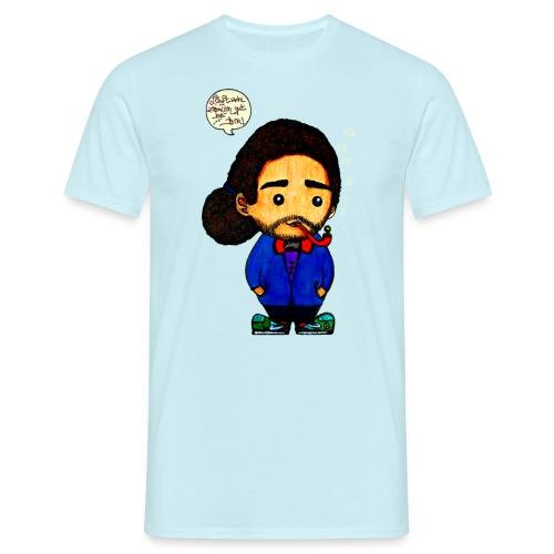 Läuft bei dir by Silva - Männer T-Shirt