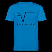 Ente Wurzel Männer Nerd T-Shirt