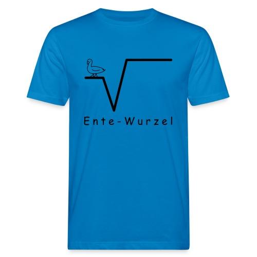 Ente Wurzel Männer Nerd T-Shirt - Männer Bio-T-Shirt