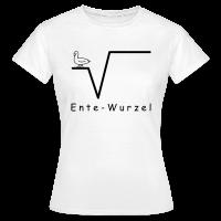 Ente Wurzel Frauen Nerd T-Shirt