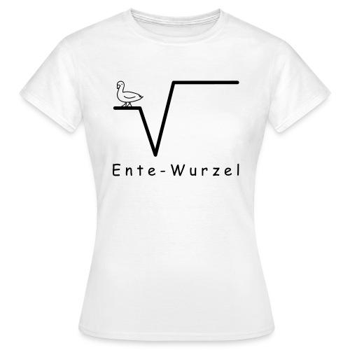 Ente Wurzel Frauen Nerd T-Shirt - Frauen T-Shirt