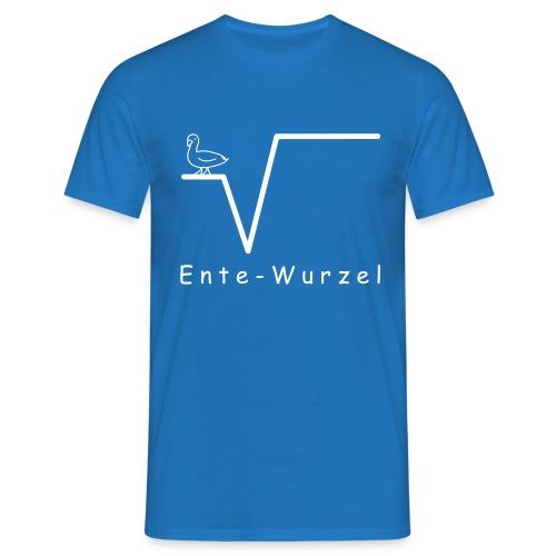 Ente Wurzel Männer Nerd T-Shirt - Männer T-Shirt
