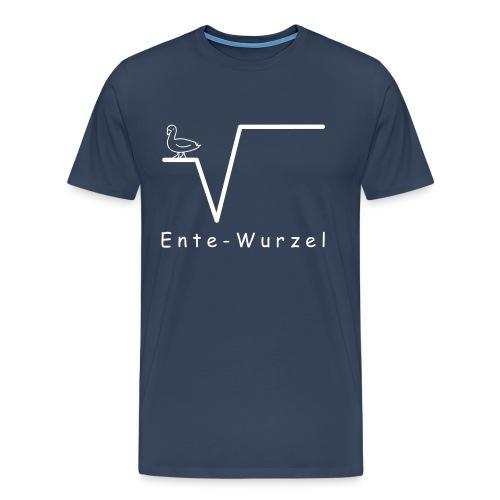 Ente Wurzel Männer Nerd T-Shirt - Männer Premium T-Shirt