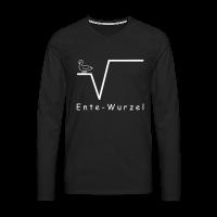 Ente Wurzel Männer Nerd Shirt