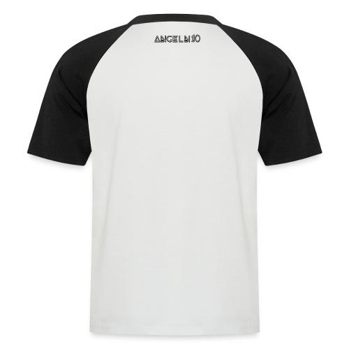 Tshirt AngelN10 Blanc/Noir - T-shirt baseball manches courtes Homme