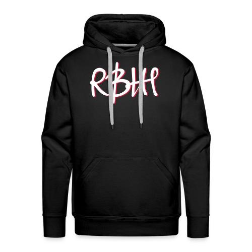 RBHH Graffiti (Flexdruck) - Männer Premium Hoodie