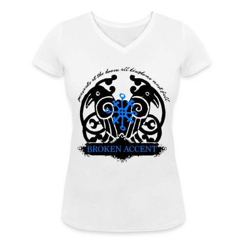 2016 - Old Logo T-shirt - Økologisk T-skjorte med V-hals for kvinner fra Stanley & Stella