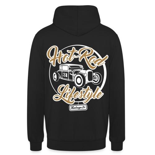 Hot-Rod lifestyle (sweatshirt à capuche) - Sweat-shirt à capuche unisexe