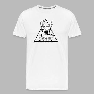 T-shirt Fan Art White Front+Back - Men's Premium T-Shirt