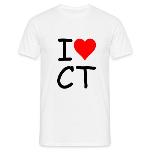 I love CT - Männer T-Shirt