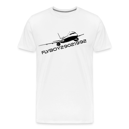 Flyboy T-Shirt Black - Men's Premium T-Shirt