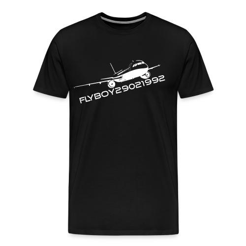 Flyboy T-Shirt White - Men's Premium T-Shirt