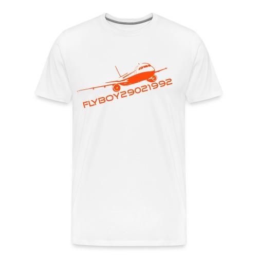 Flyboy T-Shirt Orange - Men's Premium T-Shirt