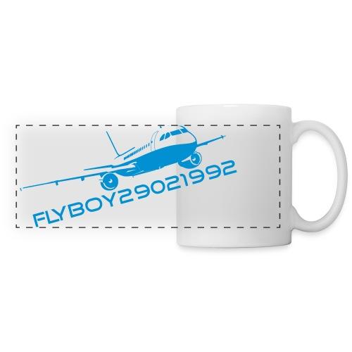 Flyboy Mug Pano Blue - Panoramic Mug