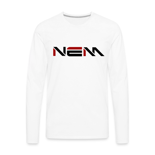 NEM Men's Premium Long Sleeve Shirt - Men's Premium Longsleeve Shirt