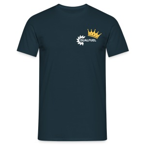 DualFuel Crown Top - Blue - Men's T-Shirt